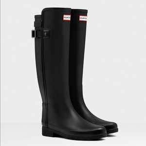🌸 Hunter Refined matte rain boots